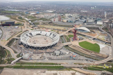 South Olympic Park, Stratford, London