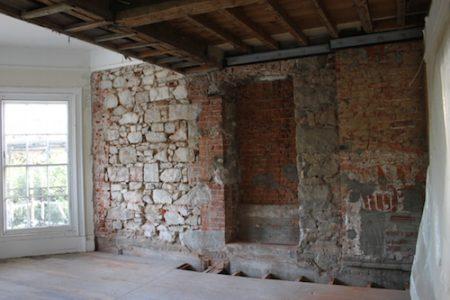 Brockhurt - First Floor Repair Work In Progress