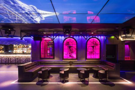 Le Peep Boutique, nightclub interior, Mayfair, London. Architect Nick Leith-Smith, London's Park Lane