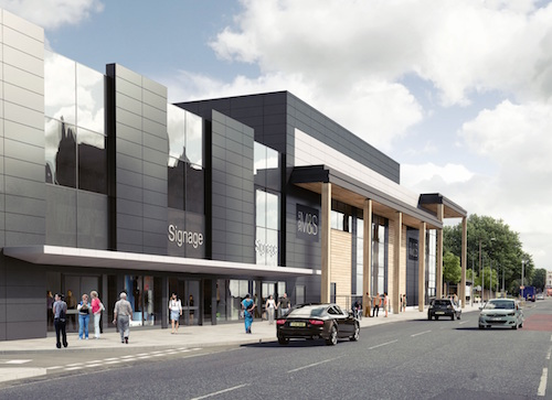 Major new retail scheme rises in Greenwich