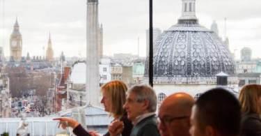 Portraits Restaurant, London