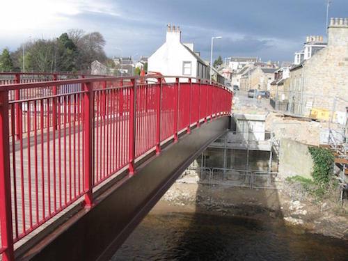 Elgin Flood Alleviation Scheme, Moray