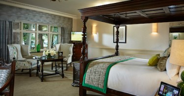 Pennyhill Park Luxury Hotel & Spa , The Bedroom in Snowdrop, of lush Greenland, Surrey