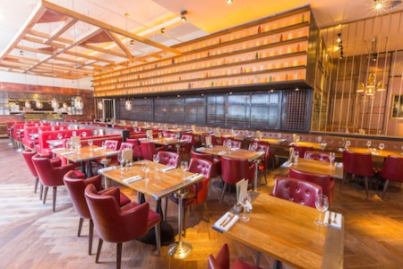 The newly refurbished Alchemist, Spinningfields, Manchester