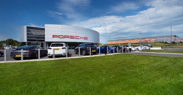 Porsche Showroom, East London, Gallions Park