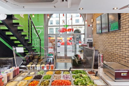 Pita Pit, Holborn, London