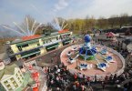 Opening of the Thomas Land Expansion at Drayton Manor Theme Park.