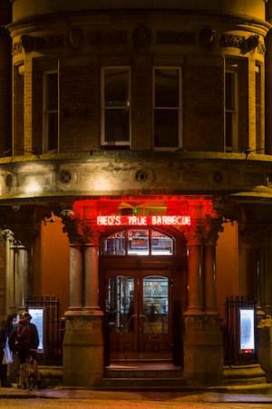 Reds True BBQ, Manchester, Albert Square