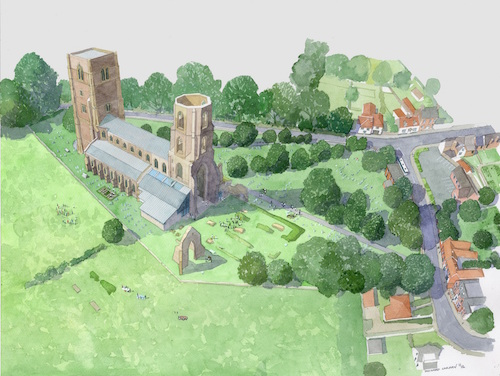 High praise for abbey project