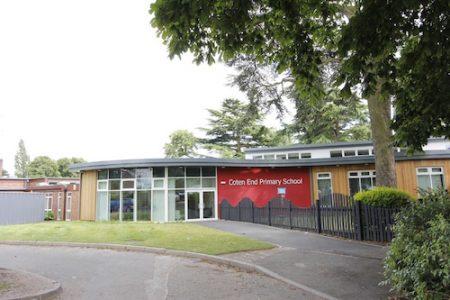 Coton End Primary School refurbished, Warwickshire