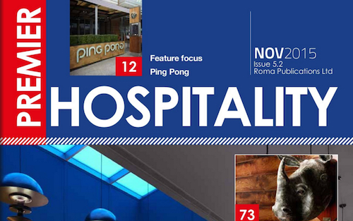 This month in Premier Hospitality Issue 5.2