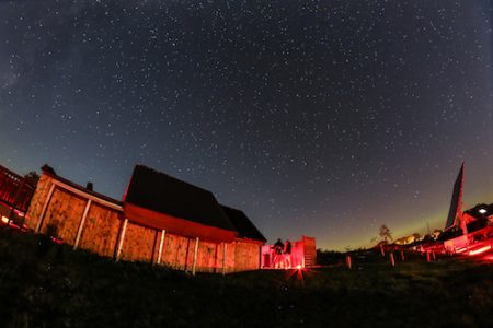 Battlesteads Hotel and Restaurant, observatory, Wark, Northumberland, Photo by Neil Denham
