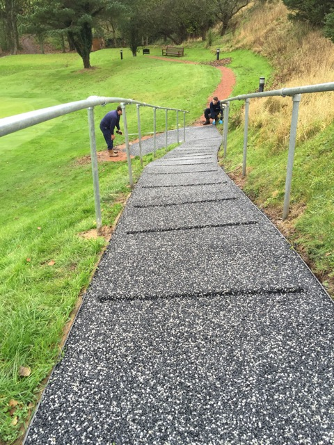 Trialflex Imrpoves Grip For Steep Golf Club Path