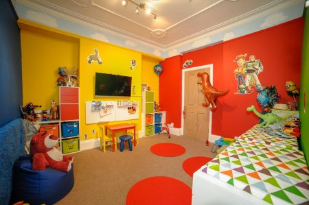 DIY SOS style make over for family thanks to Morganstone - Macsen's playroom
