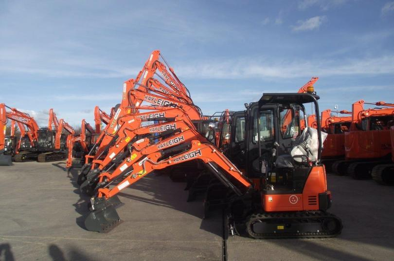 Kayleigh Plant Hire doubles fleet with £2.5million investment