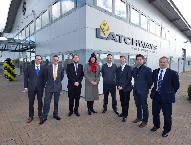 Latchways celebrates engineering innovation