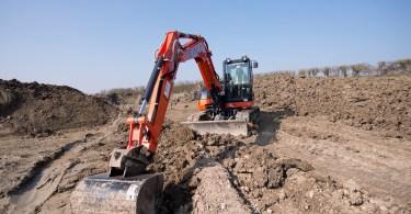 Kubota Excavators Building A Bright Future For David Einig