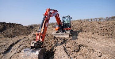 Kubota Excavators Building A Bright Future For David Einig