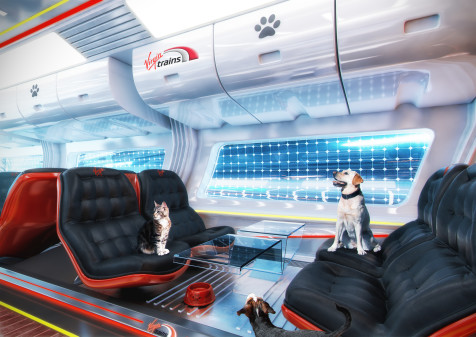 Youngsters Imagine The Train Of The Future