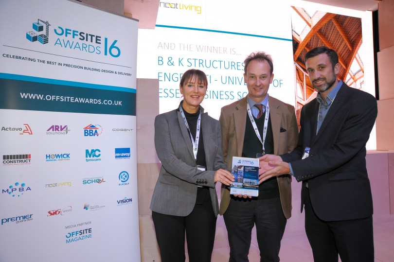 Award winning week for B & K Structures.