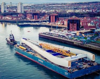 100m pylon for Sunderland's new bridge