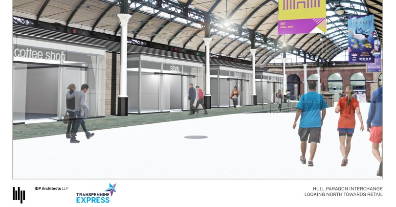 £1.4million redevelopment at Hull Paragon begins today