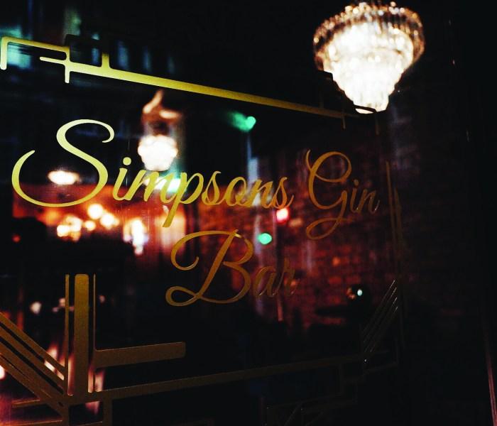 Simpsons Gin Bar