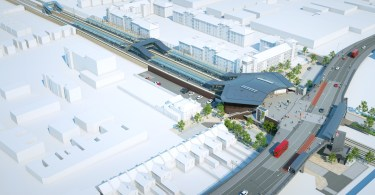 Construction Advances At Abbey Wood As New Elizabeth Line Tracks And Platforms Complete