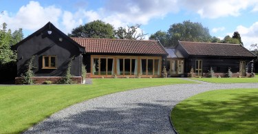Barn Conversion Benefiting From Low Heating Costs Thanks To Ground Source