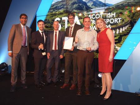 Virgin Trains' Wins Prestigious Public Transport Operator of the Year at Scottish Transport Awards