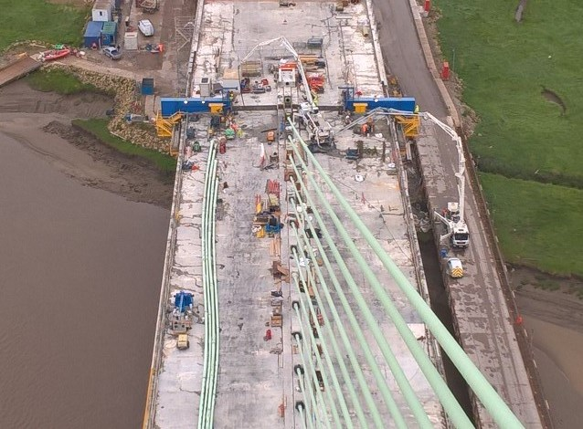 First Bridge Section Join Completed