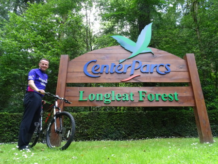 Center Parcs General Manager Takes on Desert Cycling Challenge For Charity That Supports Families