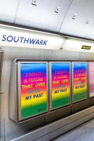 Art On The Underground Unveils Artwork By Late Artist David McDiarmid At Brixton Underground Station