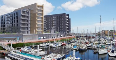 Local Welsh Contractor Progress On £1million Project In Cardiff Marina