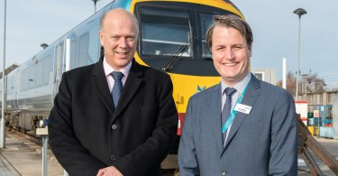 Secretary Of State For Transport, Chris Grayling, Visits York To See First-Hand The Major Upgrades TransPennine Express Is Delivering For Customers In The North