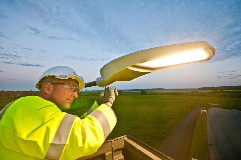 McCann Continues Street Lighting and Illuminated Signs Maintenance in North East Lincolnshire and Adds North Lincolnshire Work To Portfolio