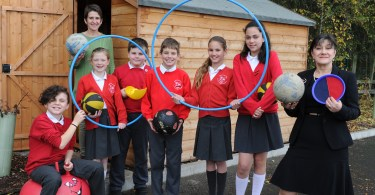 New Home For School Play Equipment Thanks To Larkfleet Homes