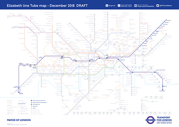 One Year To Go Until The Beginning Of Elizabeth Line Services That Will Transform Travel Across London And The South East
