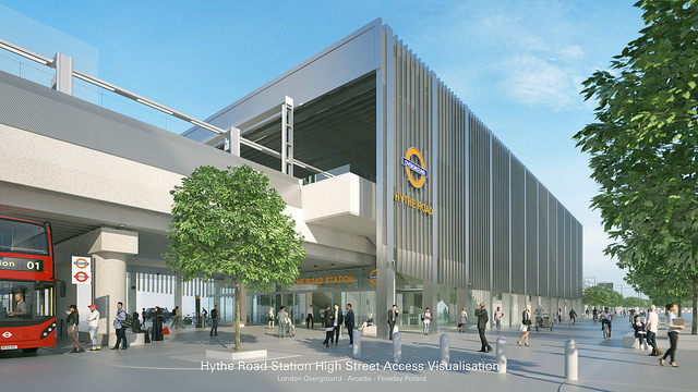 Strong Support For Two New Potential London Overground Stations At Old Oak