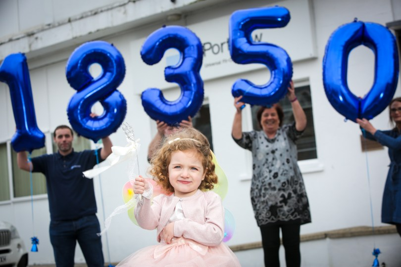 Portview Send Best Wishes To Charity With £18,350 Donation
