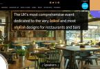 Restaurant & Bar Deisng Show Launch New Website