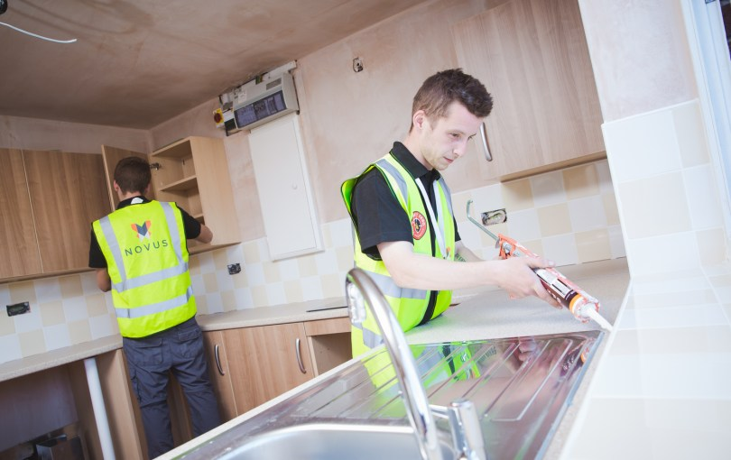 Novus Appointed to £1 Million Housing Association Refurbishment Contract