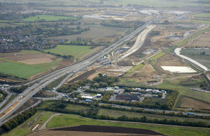 Plans for Part of A14 Upgrade to Become a Motorway