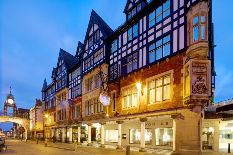 Simon Radley at The Chester Grosvenor Named one of UK's Best Restaurant