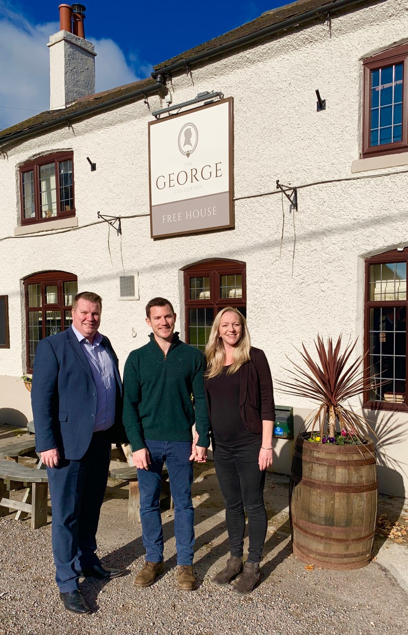 Leicestershire Country Pub Given New Lease of Life with HSBC Funding