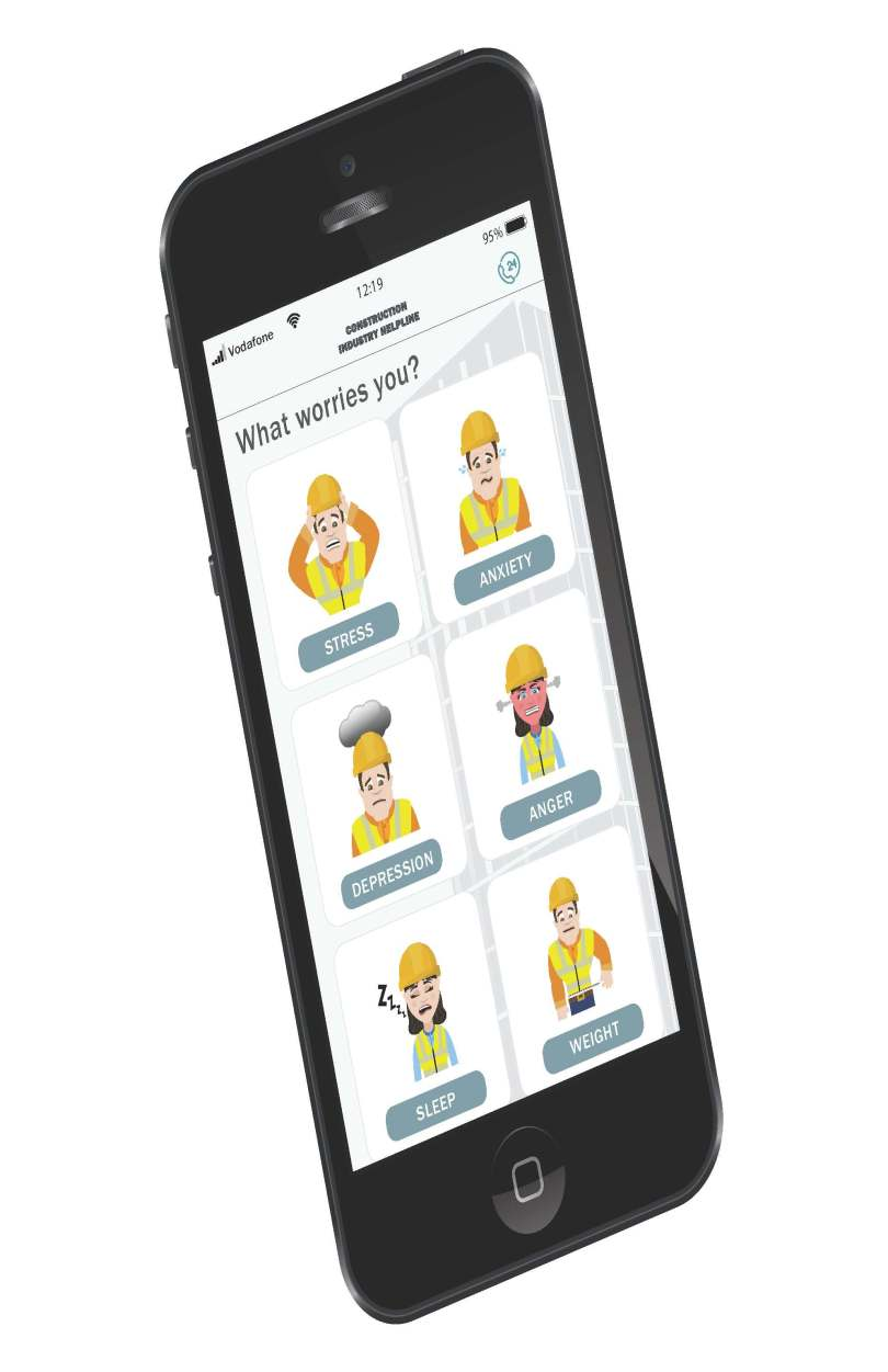 New App Launched to Support Construction Worker's Mental Health