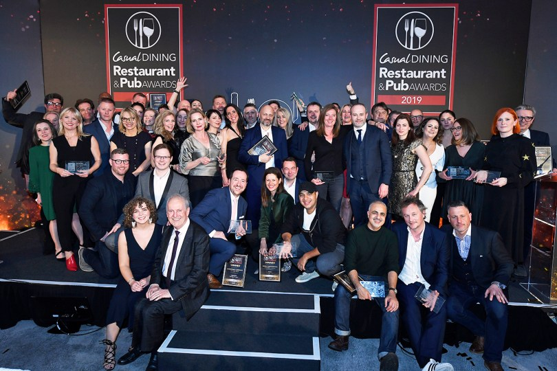 Azzurri Group, wagamama, Oakman Inns & NWTC among the winners of Casual Dining Restaurant & Pub Awards