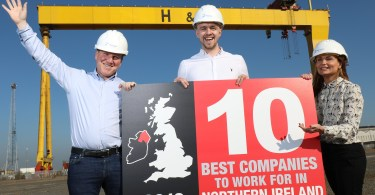 Portview Named Top Ten Employer in NI