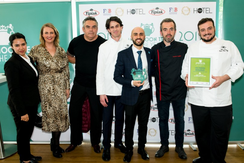 London Hilton on Park Lane's Pastry Chefs Rise to the Challenge to be Crowned UK's Best Tasting Afternoon Tea