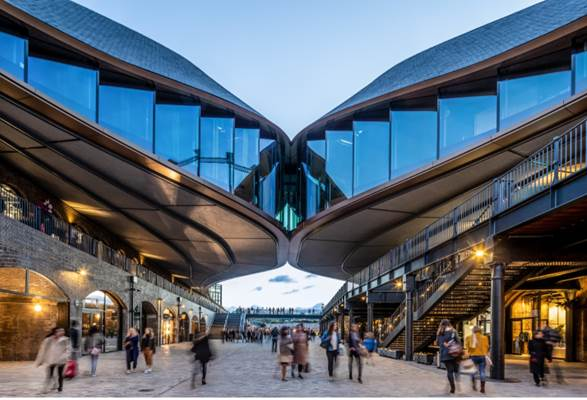Samsung KX Plans to Bring Innovation and Culture to the Heart of London's Coal Drops Yard